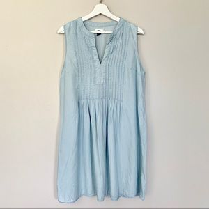 Old Navy | Chambray Dress | Size Large